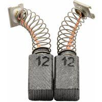 7x17x17mm Balais de Charbon pour Hitachi Coupeuse//Scie GS23U