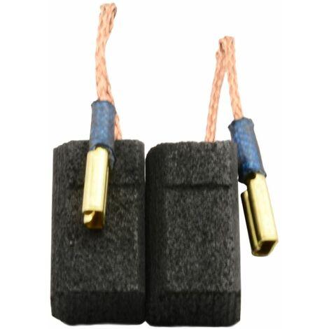 Balais de Charbon pour Hitachi Meuleuse G 13VA - 6,5x9x17mm