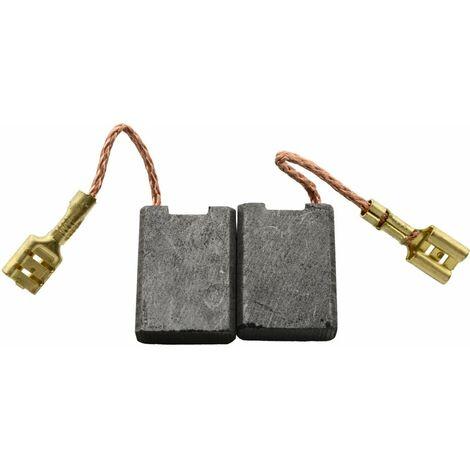 Balais de Charbon pour Hitachi Meuleuse G 23MRUA - 7x17x23mm