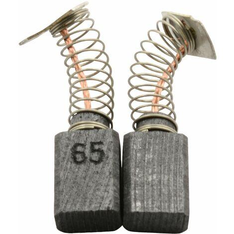 Balais de Charbon pour Makita Grignoteuse JG1600SP - 5x8x11,5mm