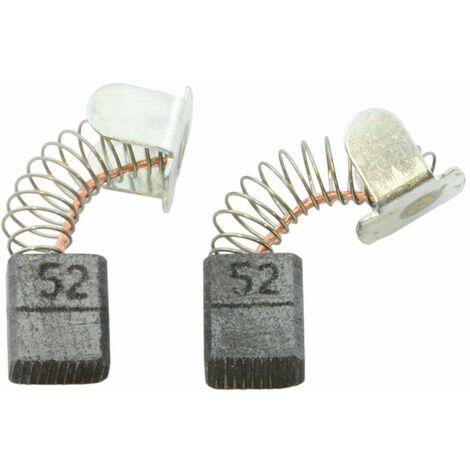 Balais de Charbon pour Makita Grignoteuse JN1600SP - 5x8x9,5mm - Remplace CB-52
