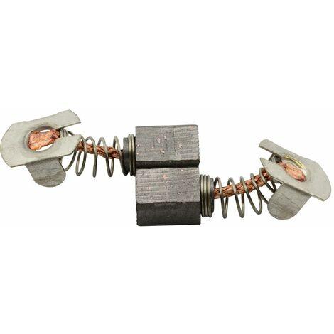 Balais de Charbon pour Makita Meuleuse BGD800RFE - 7x7,4x9,5mm