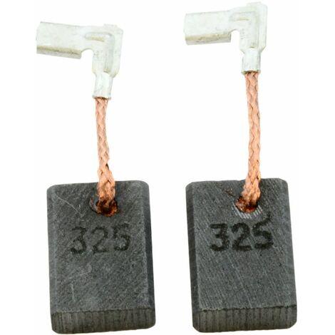 Balais de Charbon pour Makita Mini Meuleuse Angulaire 9558PBY - 5x11x15,5mm