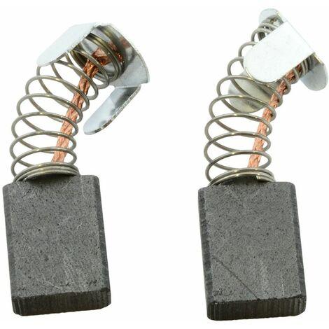 Balais de Charbon pour Makita Scie à onglets LS 1013F - 6,5x13,5x16mm