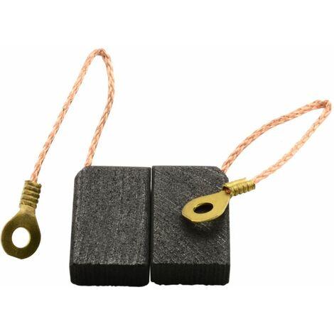 Balais de Charbon pour Perles Polisseuse UP702 - 6,4x12,5x22mm