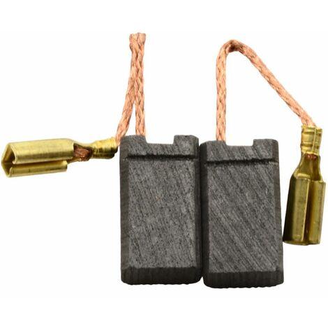 Balais de Charbon pour Protool Perforateur 763712 - 5x8x14mm - Remplace 627011