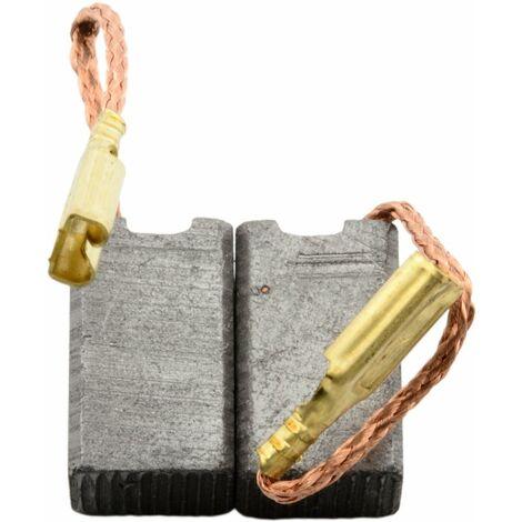 Balais de Charbon pour Ryobi Coupeuse/Scie SG1151 - 6x8x13mm