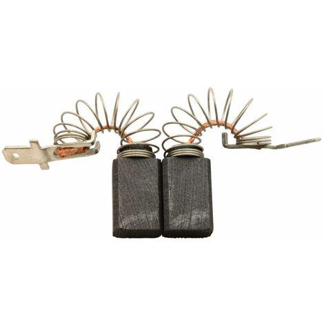 Balais de Charbon pour Skil Coupeuse/Scie 1400 H1 - 6,4x10x15mm