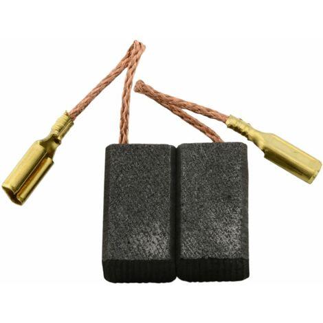 Balais de Charbon pour Skil Mini Meuleuse Angulaire 9003 - 6x8,4x15mm