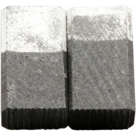 Balais de Charbon pour Skil Ponceuse 6470 H2 - 5,5x8,5x15mm