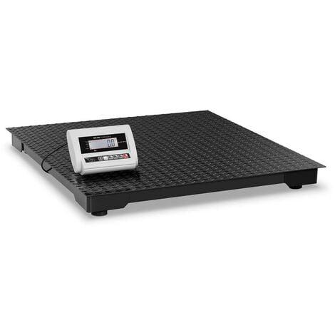 Balance au sol - 1000 kg / 0,5 kg - LCD