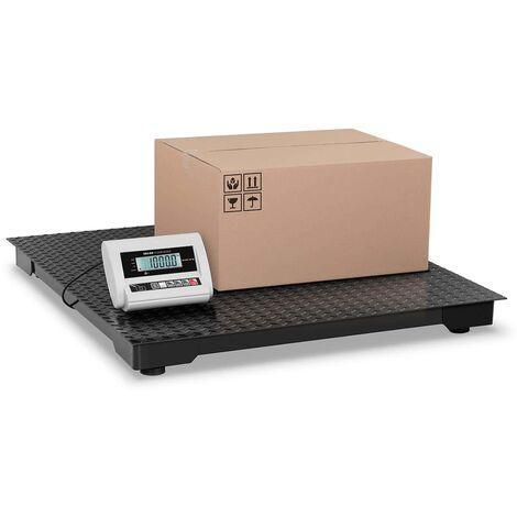 Balance Au Sol Balance Plateforme Balance Industrielle Eco Lcd 1 T ± 0 5 Kg 1X1M