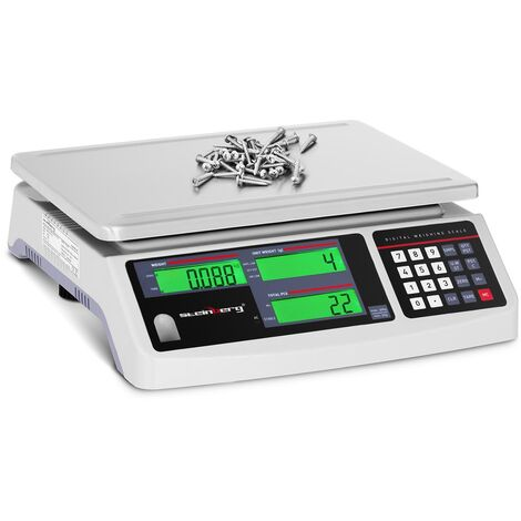 Balance Compteuse Précision Électronique Professionnelle 3 Écrans LCD ?30kg ±1g