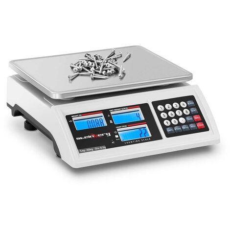 Balance Compteuse Précision Électronique Professionnelle Inventaire ?30kg ±0,5g