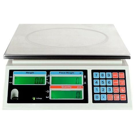 Balance compteuse professionnelle 30 Kg x 1 g - LB0362 - D-Work