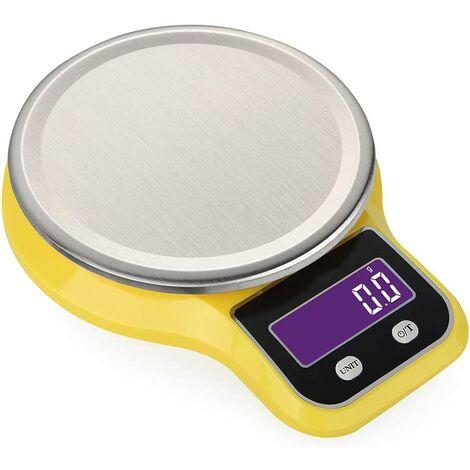 Balance Cuisine,Balance de Cuisine Electronique de Haute Précision/Inoxydable Food Scale Mini Electronic Platform Scale