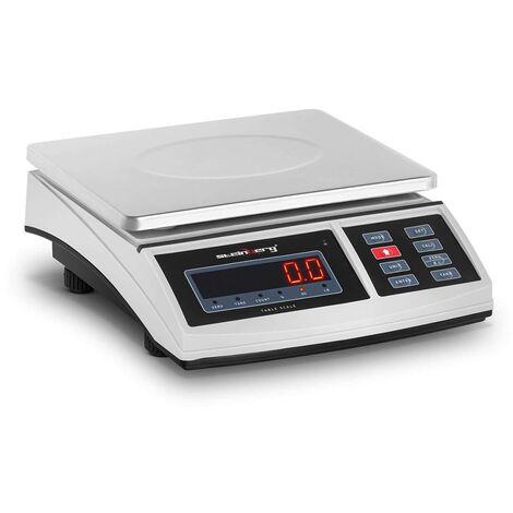 """main image of """"Balance de Cuisine Électronique Lettres Ecran LED Numérique Précision 30kg ±1g"""""""