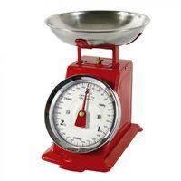 Balance et peson Balance de cuisine rouge