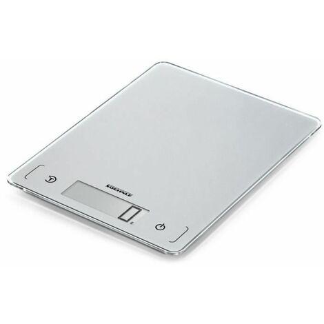 Balance de cuisine numérique Soehnle KWD Page Comfort 300 Slim Plage de pesée (max.)=10 kg gris-argent