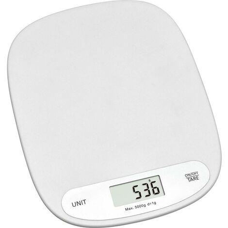 Balance de cuisine numérique TFA Dostmann 50.2003.02 numérique, avec fixation murale Plage de pesée (max.)=5000 g blanc 1 pc(s)