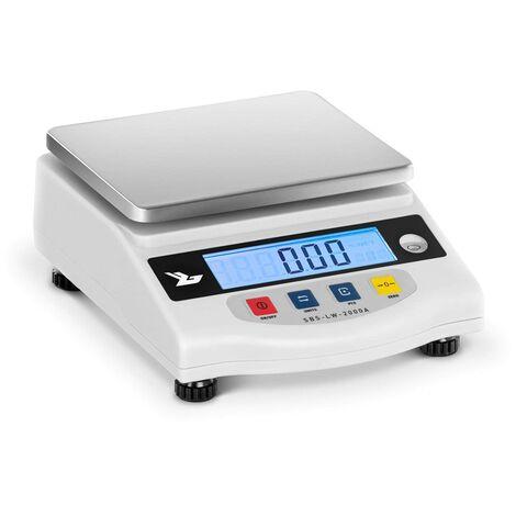 Balance De Laboratoire Pharmacie Digitale Plateau Inox Haute Précision 2Kg/0 01G