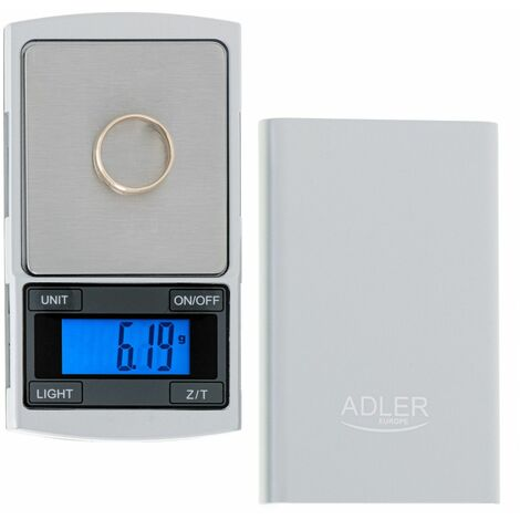 Balance de précision Adler AD 3168 - 100g / 0,01g - Ecran LCD