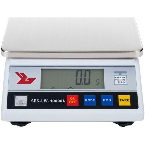 Balance de précision digitale professionnelle cuisine laboratoire 10.000g / 0.1g