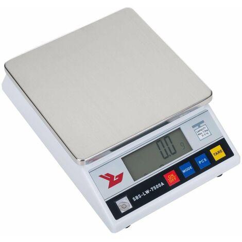 Balance de précision digitale professionnelle cuisine laboratoire 7.500g / 0.1g