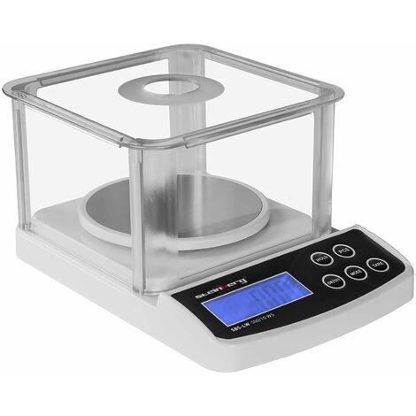 Balance de précision digitale professionnelle cuisine laboratoire glace 500 g / 0,01 g - Jaune