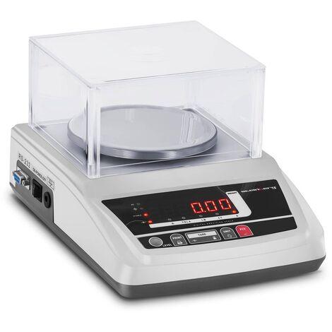 Balance De Précision Électronique Bijoux Table Laboratoire Couvercle 300g ±0,01g