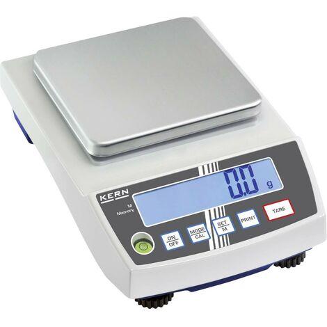 Balance de précision Kern Plage de pesée (max.) 1 kg Lisibilité 0.01 g