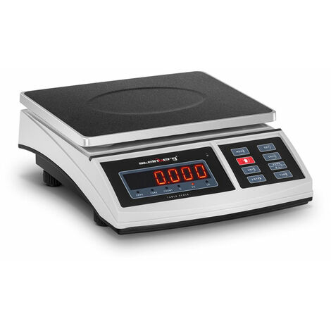 Balance de table cuisine pèse aliment - 30 kg / 1 g - 21 x 27 cm - LED