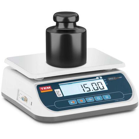 Balance De Table Cuisine Pèse-Aliment Électronique Digitale TEM 15 kg ±5 g