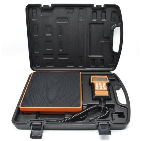 Balance électronique 100 kgs de réfrigérant avec malette