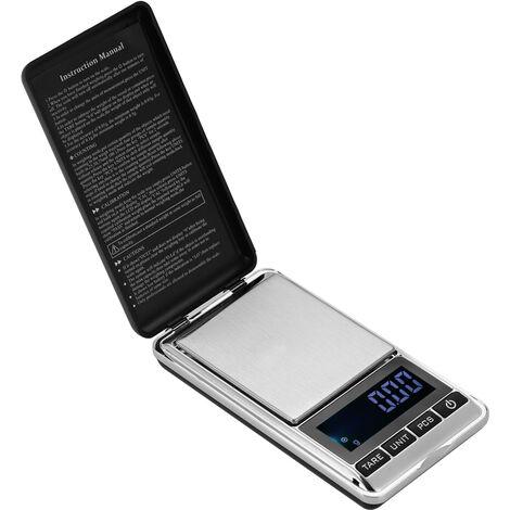 Balance electronique de haute precision, balance de poche pour bijoux, expediee sans batterie, 300g / 0,01g