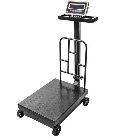 - Balance industrielle avec la plate-forme 45x60 cm 500 Kg avec roues