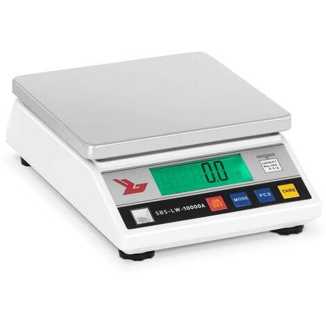 Balance Laboratoire Pharmacie Digitale Plateau Inox Haute Précision 10Kg/0 1G