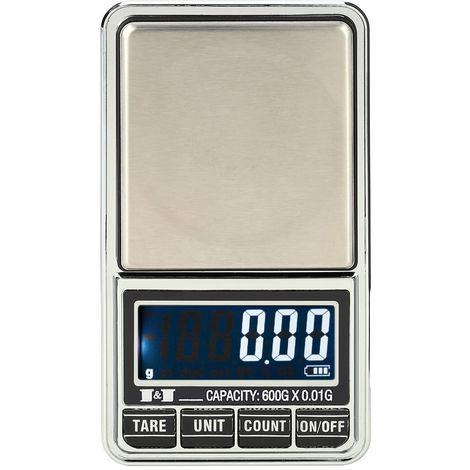 Balance Numerique, Balance De Poche Electronique Pour Bijoux, 600G*0.01G