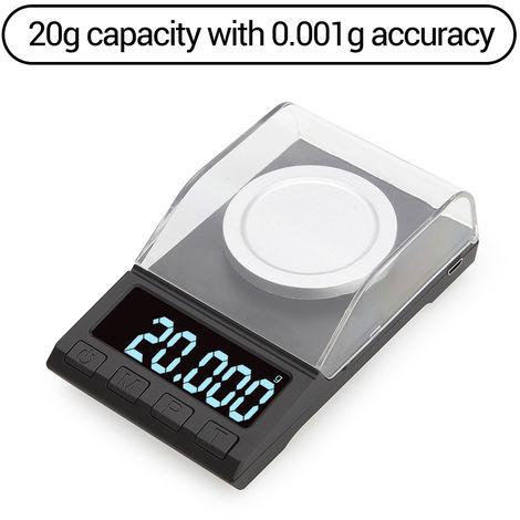Balance Numerique Haute Precision, 20 G * 0,001 G