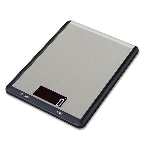 Balance Numerique Lcd En Acier Inoxydable, Avec Touche Tactile, 10Kg / 1G