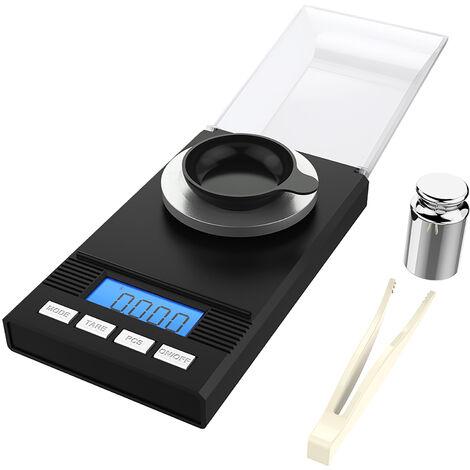 Balance Numerique Professionnelle De Haute Precision, 50G / 0,001G