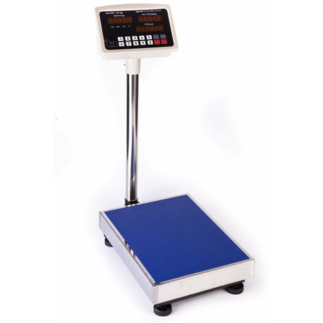 Balance plateforme digitale professionnelle 100kg / 10g LED - Jaune