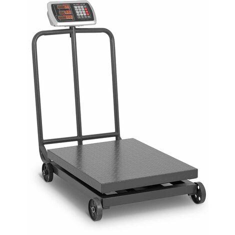 Balance Plateforme Mobile Pèse-Colis Professionnel Industriel LED 600kg ±100g