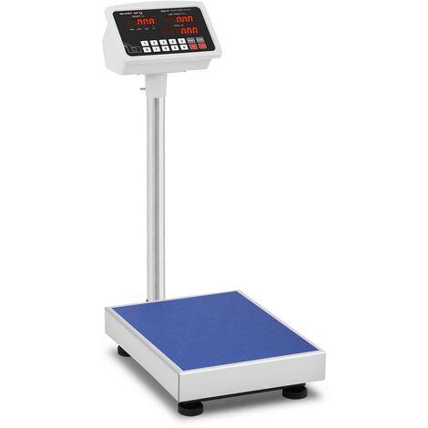 Balance Plateforme Pèse-Colis Admissible À La Vérification 100 Kg ±10 G 40X30 Cm