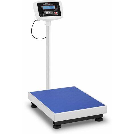 Balance Plateforme Pèse-Colis Admissible À La Vérification 150 Kg ±50 G 60X45 Cm