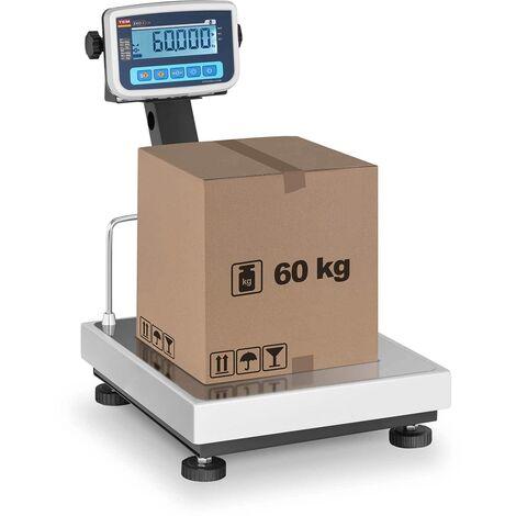 Balance Plateforme Pèse-Colis Admissible À La Vérification 60 Kg ±20 G 35X40 Cm