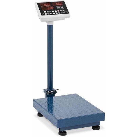 Balance Plateforme Pèse-Colis Admissible À La Vérification 600 Kg ±100G 60X45 Cm