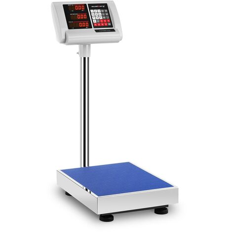 Balance Plateforme Pèse-Colis Professionnel 60 kg ±10 g 40x30 cm Autonomie 10 h