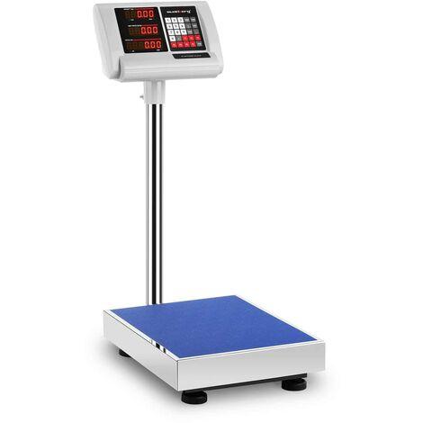 Balance Plateforme Pèse-Colis Professionnel 60 kg ±10 g 40x50 cm Autonomie 10 h