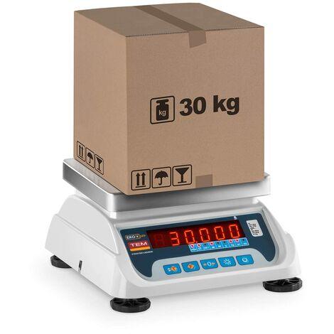 Balance Poids-Prix Balance Pour Commerce Marché Homologuée 30 Kg ± 10 G 17X22 Cm